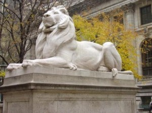 NYPL Lion - www.nypl.org
