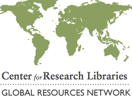 Center for Research libraries file22751