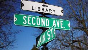 library street_sign