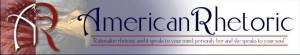 Amerrican Rhetoric logo