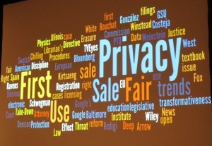 Tag cloud of speaker abstracts