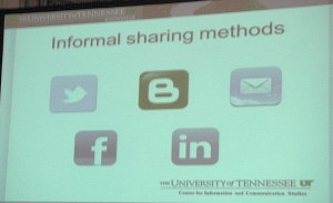 Informal sharing systems