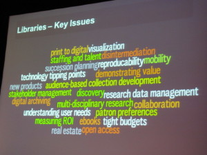 Key issues for libraries