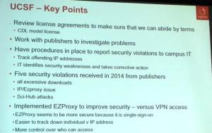 UCSF Key Points