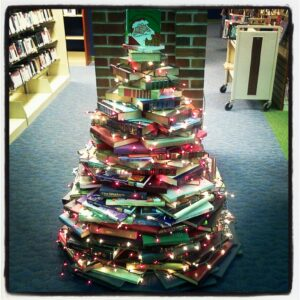 Christmas-Tree-Books-Library