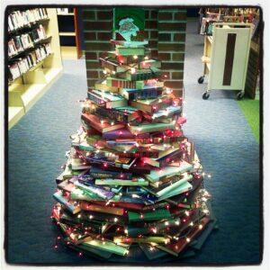 Christmas-Tree-Books-Library