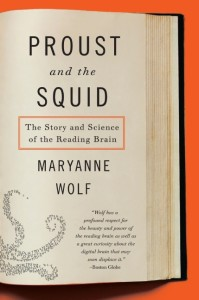 Proust  the Squid bookjacket