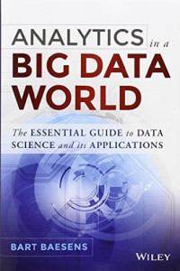 Analytics in a Big Data world cover