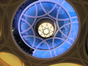 Gaillard Center Ceiling Detail