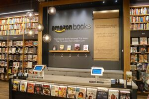 Amazon book display 3