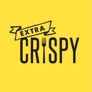 extra crispy logo-on-yellow