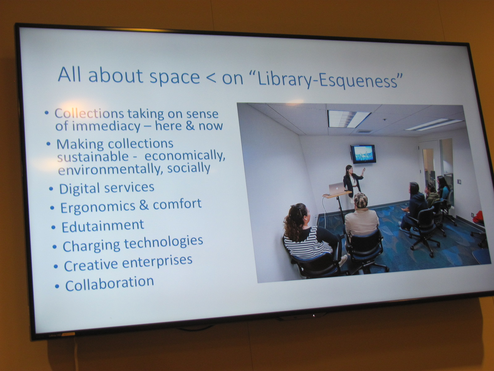 Reimagining the Library: Relationships Between Library Collections