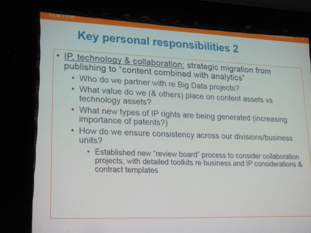 Mark's Responsibilites (2)
