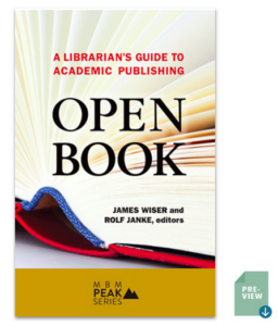 ATG Book of the Week: Open Book: A Librarian's Guide to Academic