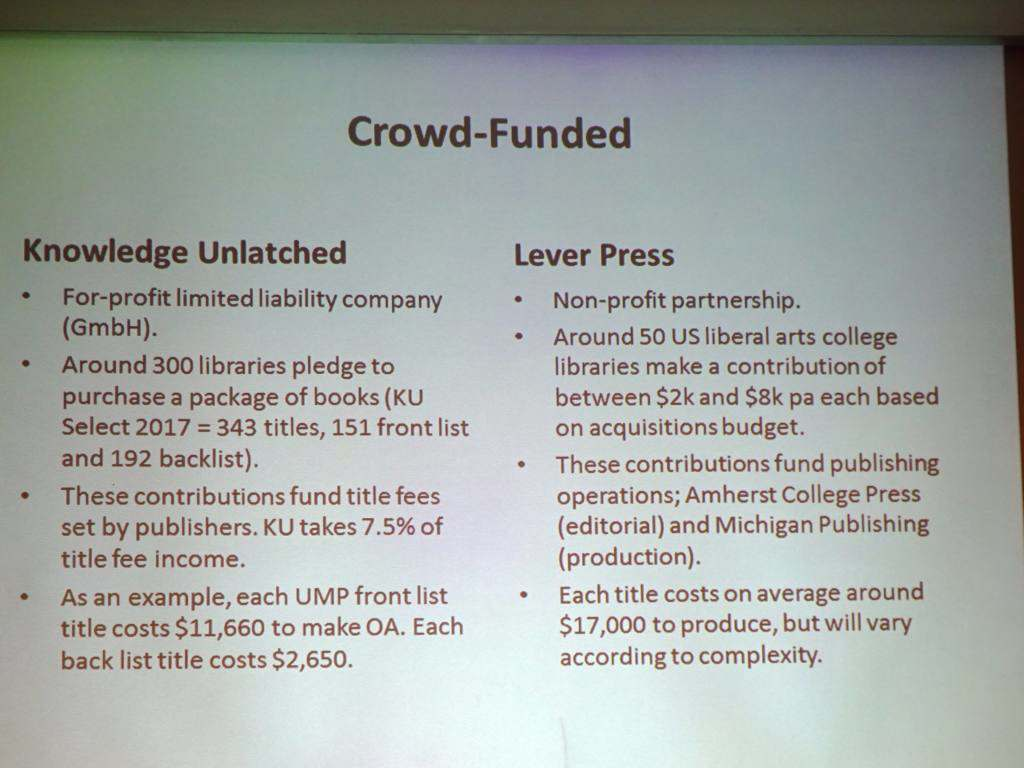 Crowd Funded