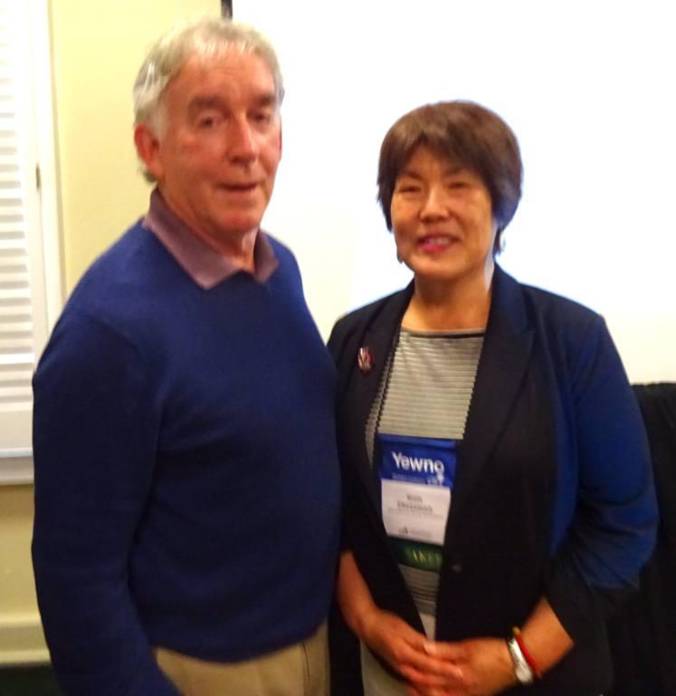 Jim and Shin Freedman