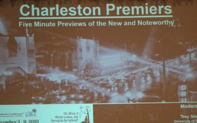 Charleston Premiers: New and Noteworthy