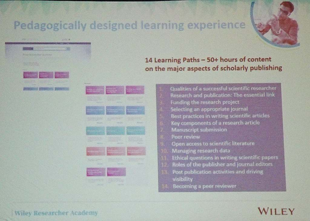 Wiley Researcher Academy Learning Paths