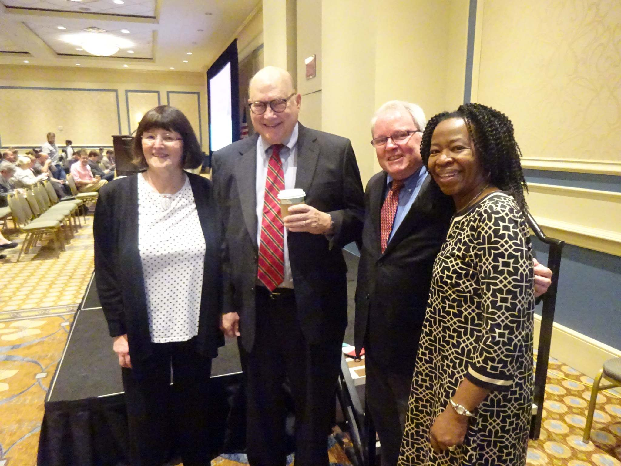 Ann Okerson, Bill Hannay, Kenneth Crews, Ruth Okedji