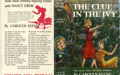 ATG Quirkies:  The Secret Behind Nancy Drew