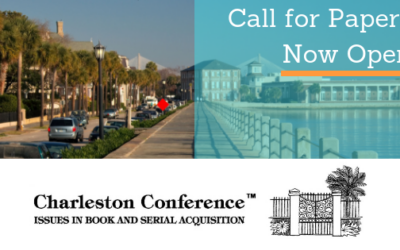 Call for Papers Now Open: 2019 Charleston Conference