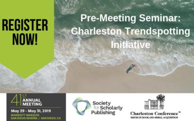 Charleston Trendspotting Initiative: An SSP Pre-Meeting Seminar