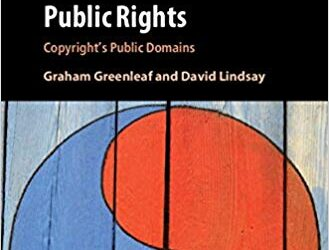ATG Book of the Week: Public Rights: Copyright's Public Domains