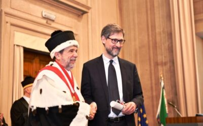 ATG Newsflash: Michele Casalini awarded Laurea magistrale ad honorem in Library and Information Science by the University of Florence