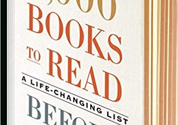 ATG Book of the Week: 1,000 Books to Read Before You Die: A Life-Changing List