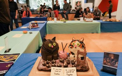 ATG Quirkies: Literary classics meet fruit, fondant for Edible Book Festival in Moffitt Library