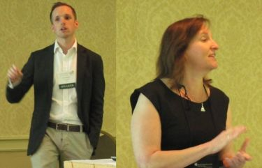 Iain Hrynaszkiewicz and Beth Barnhardt