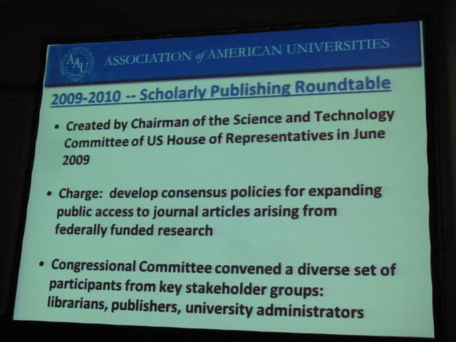 Scholarly Publishing Roundtable