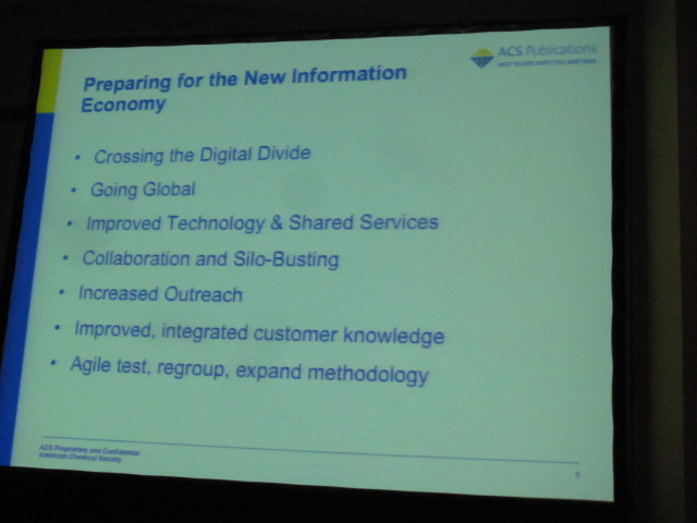 Preparing For the New Information Economy