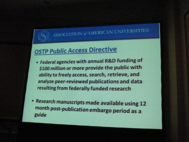 OSTP Public Access Directive