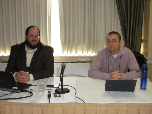 Jeffrey Daniels and Patrick Roth