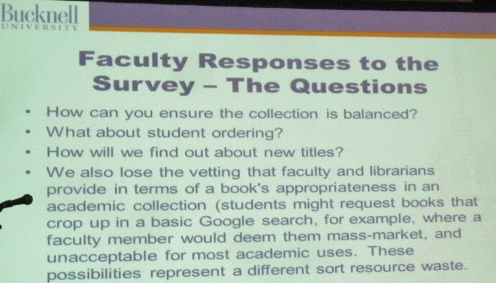 Faculty questions
