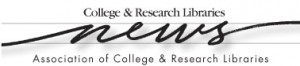 college research libraries news - crln.acrl.org